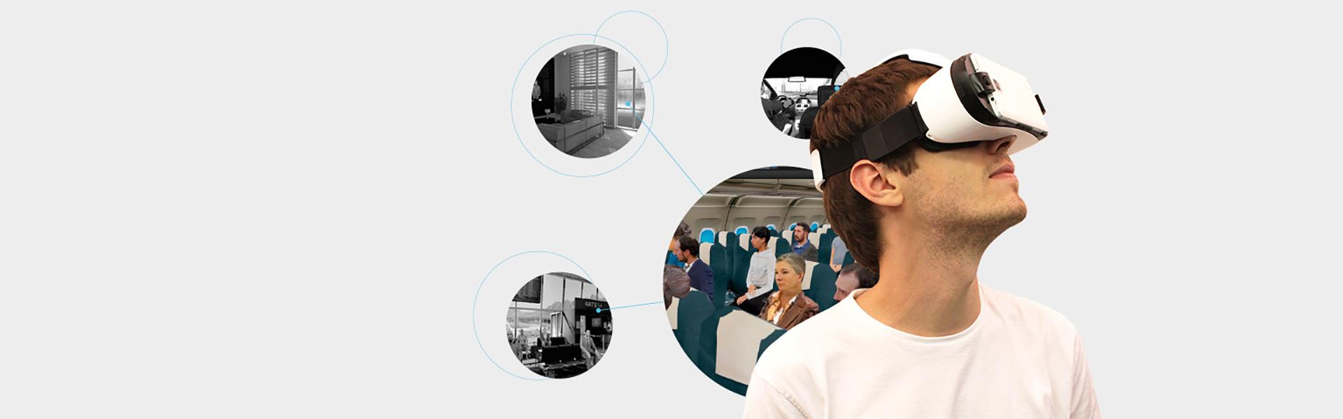 Gafas de realidad virtual para tratamientos psicológicos en Valladolid